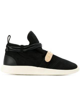 Giuseppe Zanotti Hayden mid-top sneakers - Zwart