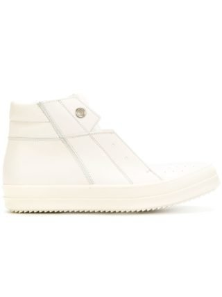 Rick Owens Island Dunk hi-top sneakers (wit)