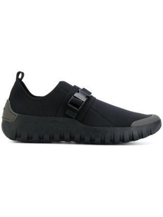 Prada riem detail sportschoenen (zwart)