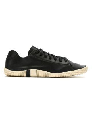 Osklen geperforeerde vetersneakers (zwart)