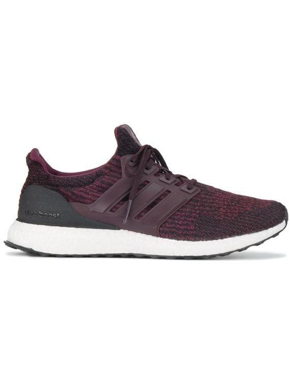 Adidas Burgundy Ultraboost Sneakers – Rood