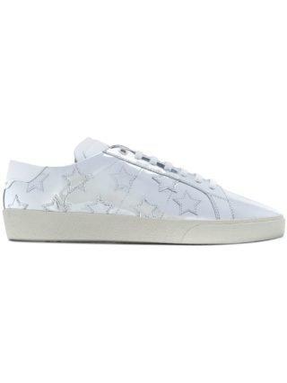Saint Laurent klassieke Court SL / 06 California sneakers (zilver)