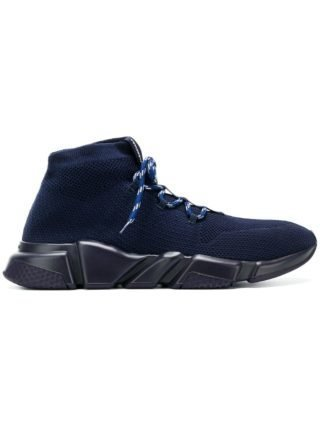 Balenciaga Bal Speed ??hi-top sneakers (blauw)
