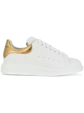 Alexander McQueen oversized zool sneakers - Wit