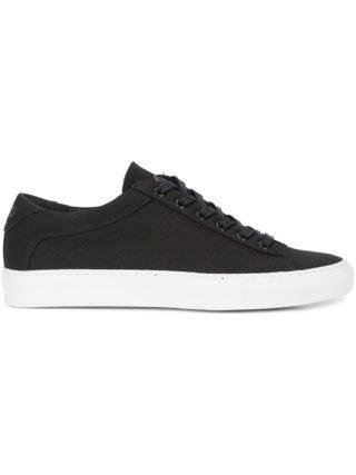 Koio sneakers van Capri Nero Canvas (zwart)