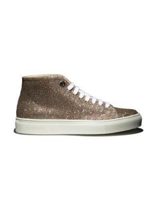 Swear Vyner Hi-top Fast Track Customisation sneakers (zilver)