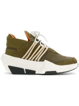 The Shoe Surgeon Farfetch x De sneakers van The Schoon Y3 Mira (groen)