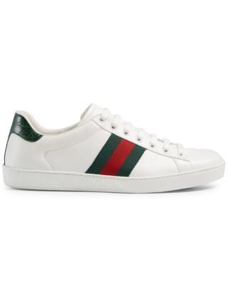 Gucci Ace leren sneakers (wit)