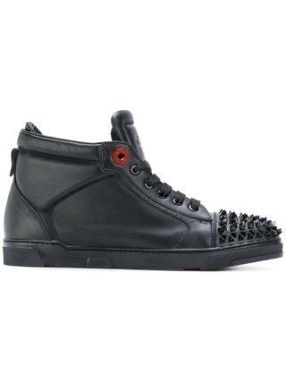 Royaums hi-top sneakers met studs (zwart)