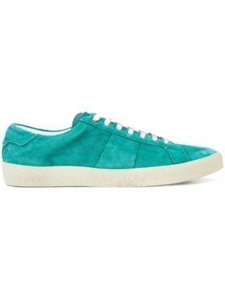 Saint Laurent vetersneakers (groen)