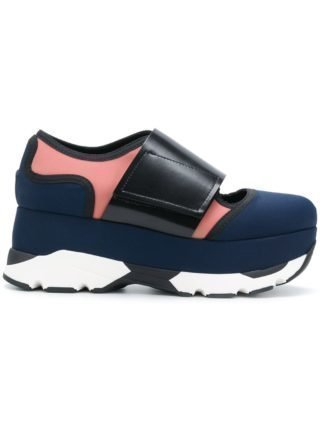 Marni Arial plateau sneakers (blauw)