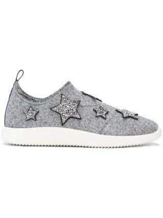 Giuseppe Zanotti Alena Star sneakers (zilver)