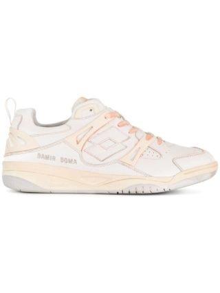 Damir Doma geruite sneakers (wit)