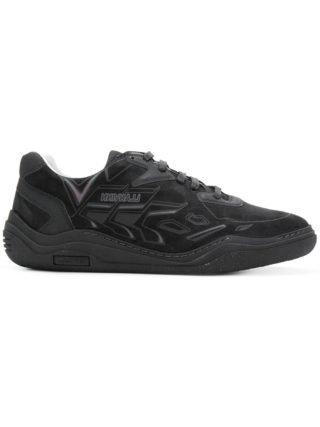 Lanvin grafische print duiken sneakers (zwart)