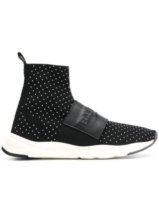 Balmain Cameron high top sneakers (zwart)