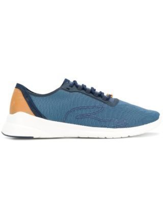 Lacoste colour-block sneakers (blauw)