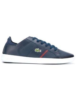 Lacoste geperforeerde sneakers (blauw)