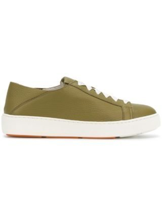 Santoni vetersneakers (groen)