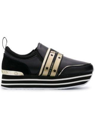 Versace Jeans plateau sneakers (zwart)