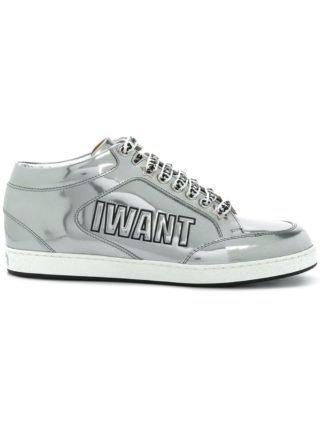 Jimmy Choo Miami sneakers (zilver)