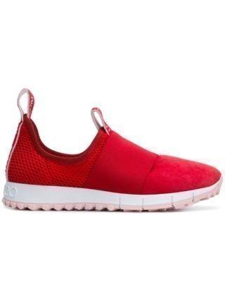 Jimmy Choo Oakland sneakers (rood)