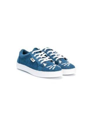 Karl Lagerfeld Kids Choupette sneakers (blauw)