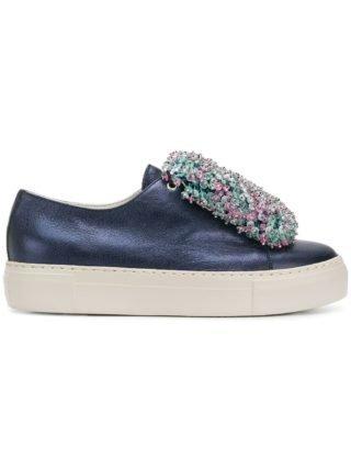 Agl kralen voorplateau sneakers (blauw)