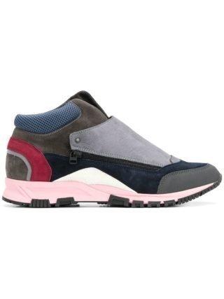 Lanvin gekleurde color-block sneakers (Overige kleuren)