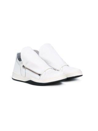 Cinzia Araia Kids sneakers met dubbele rits (wit)