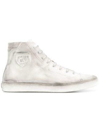 Saint Laurent Bedford hi-top sneakers (wit)