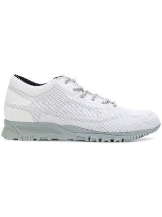 Lanvin geperforeerde vetersneakers (wit)