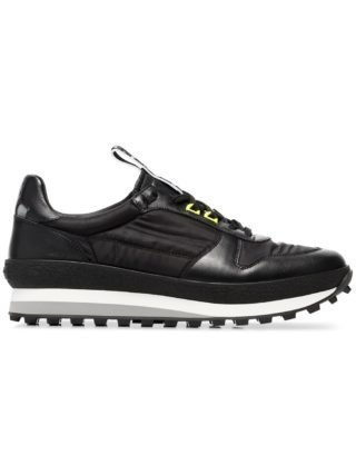 Givenchy black TR3 runner leather sneakers (zwart)