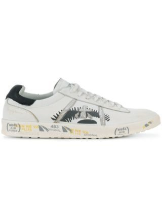 White Premiata Andy_3094 printed sneakers (wit)