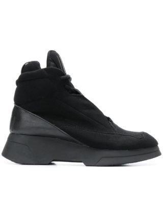 Julius soepele elastische sneakers (zwart)