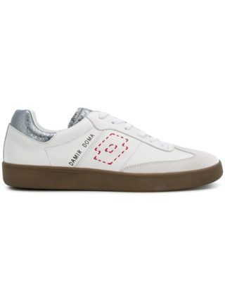 Damir Doma Damir Doma x LOTTO rounded toe lace-up trainers (wit)
