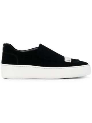 Sergio Rossi slip on sneakers (zwart)