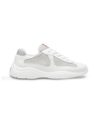Prada America Cup sneakers (wit)