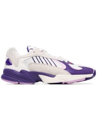 Adidas witte paarse en roze dragonball Z yung 1 Frieza edition sneakers
