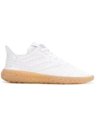 Adidas White Sobakov Sneakers - Wit