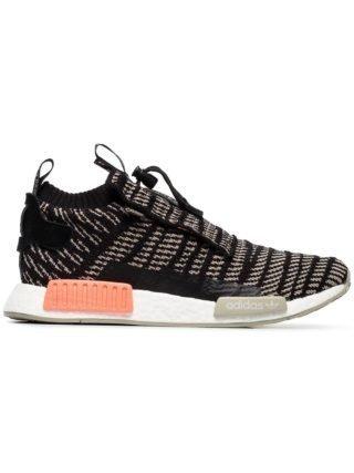 Adidas NMD TS1 Primeknit sneakers - Zwart
