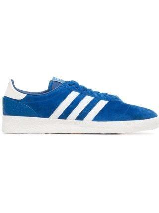 Adidas Blauw en witte Munchen Super SPLZ sneakers