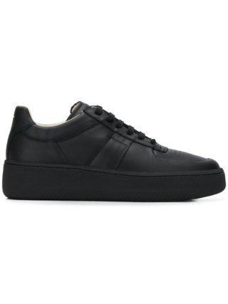 Maison Margiela low-top plateau sneakers (zwart)