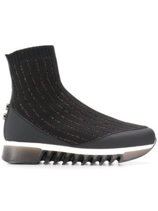 Alexander Smith sok sneakers (zwart)