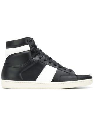 Saint Laurent Court Classic hi-top sneakers - Wit