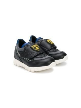 Bumper Lamborghini patch sneakers (zwart)