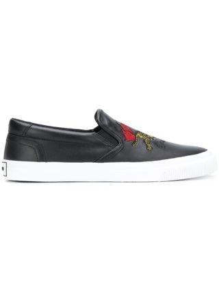 Kenzo bamboe Tiger sneakers (zwart)