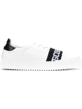 Gcds geperforeerde vetersneakers (wit)