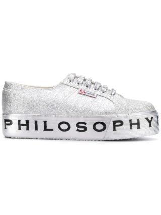 Philosophy Di Lorenzo Serafini Superga flatform glitter sneakers (Overige kleuren)