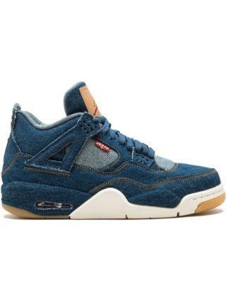 Jordan Nike x Levi's Air Jordan 4 Retro sneakers - Blauw