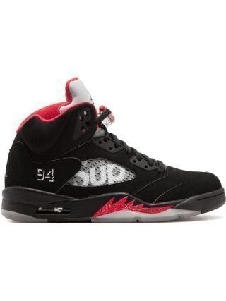 Supreme Air Jordan 5 Retro Supreme sneakers (zwart)